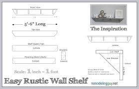 home decorators promotional code 10 off diy rustic shelf u2013 illustrated how to