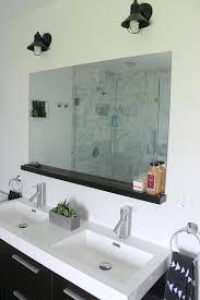 Bathroom Mirror And Shelf Bathroom Mirrors With Shelves Ccode Info