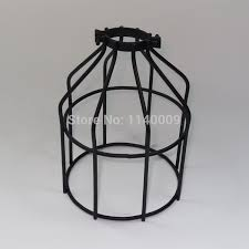 Wire Cage Light Industrial Lamp Guard Cage Vintage Lights Lamp Cage Wire Cage
