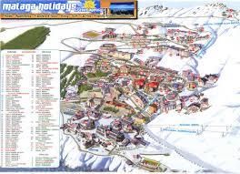 Nevada Map Map Of Sierra Nevada Ski Resort In Spain Granada