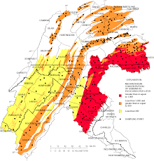radon in ground water of the lower susquehanna and potomac river