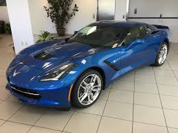 2016 corvette stingray z51 coupe in laguna blue metallic tintcoat