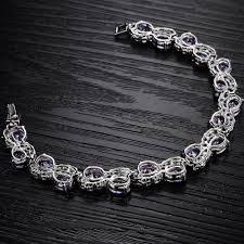 s day bracelet aliexpress buy women bracelets bangles luxury purple charm
