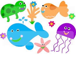 gallery for sea creatures cliparts and others art inspiration