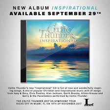 win a celtic thunder inspirational cd contest country 92 5