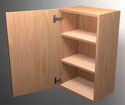 How To Make Cabinet Doors From Plywood How To Build Frameless Wall Cabinets
