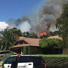 Wild Fire July 2017 by Brush Fire Threatens Homes In La Verne 89 3 Kpcc