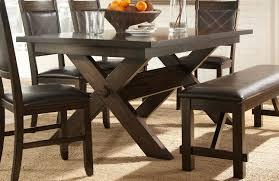 espresso dining room set homelegance roy dining table espresso 2499dc 90