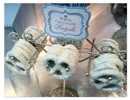 Candy Tables Ideas Baby Boy Blue Candy Buffet Baptism