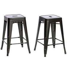 White Metal Bar Stools Steel Bar U0026 Counter Stools Shop The Best Deals For Oct 2017
