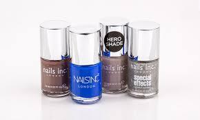 nails inc nail polishes sets groupon goods