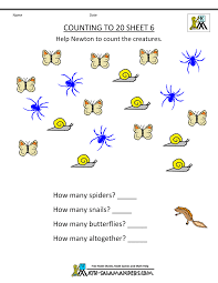 free printable kindergarten worksheets