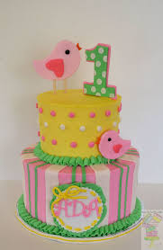 spring theme first birthday cake cakecentral com
