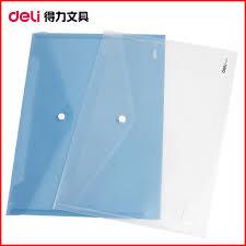 fermeture bureau en gros snap sac pp produits de remplissage efficace a4 transparent bouton