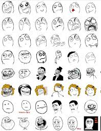 Internet Meme Faces - fun funny troll face images and rage face pics mems gifs