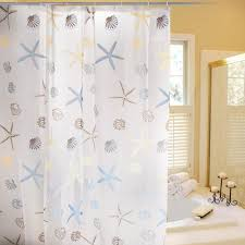 Tropical Beach Shower Curtains by Beautiful Nautical Curtains For Shower And Windows