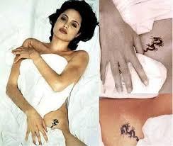 small angelina jolie u0027s tattoo design 3 angelina jolie tattoos