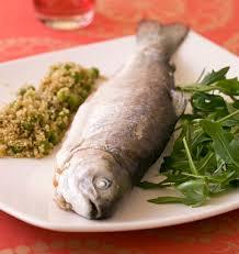 comment cuisiner la truite truite entière et quinoa aux petits pois les meilleures