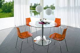 Round Glass Kitchen Table Photo Gallery NevadaToday - Glass for kitchen table