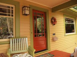 what does the color of your front door say about your home