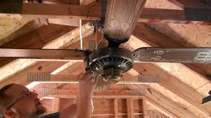 beam mount for ceiling fan moss spinner top mount ceiling fan youtube