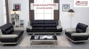 fauteuil et canapé canapé et fauteuil en cuir