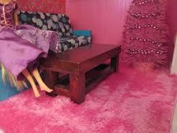Barbie Dining Room Homemade Barbie Furniture Inside The Barbie Craft Room Homemade