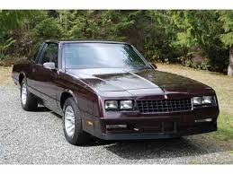 84 Monte Carlo Ss Interior 1985 To 1987 Chevrolet Monte Carlo Ss For Sale On Classiccars Com
