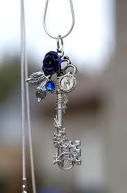 rose key necklace images Purple winter rose key by keyperscove keys jpg