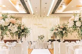 wedding backdrop kl relaxed luxe wedding at the westin kuala lumpur