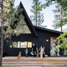 a frame cabin gets an a makeover cabin icons and woods