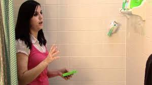 housecleaning lessons how to remove soap scum from tile youtube