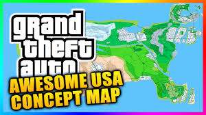 Crime Map United States by Amazing Usa Grand Theft Auto Concept Map Featuring Liberty City