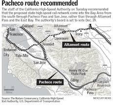 California High Speed Rail Map Bullet Train Route Via San Jose Picks Up Speed U2013 The Mercury News