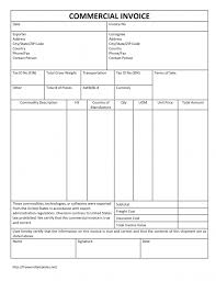 Excel Invoice Template Free Commercial Invoice Template Free Excel Design Invoice Template