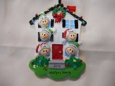 5 family mitten ornament personalized ornament family