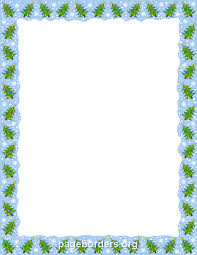 tree border clip page border and vector graphics