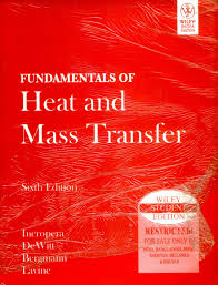 fundamentals of heat and mass transfer 6th edition buy