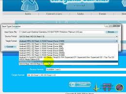 desmume apk how to convert sav no gba file to dsv file for desmume emulator