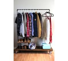 design clothes etsy modern brach clothing rack laurencemakano co
