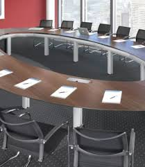 Oval Boardroom Table Stellar Grand Table Ambience Doré