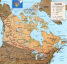 Map Of Canada And Alaska by Maps Of Canada Provinces Political And Territories Pictures