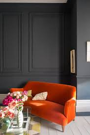 living room with walls in railings no 31 estate emulsion trim and