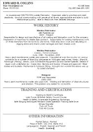 free resume exles online welding resumes exles download welders resume com 17 welder