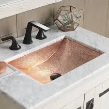 Hammered Copper Bathroom Sink Avila Copper Bathroom Sink Native Trails