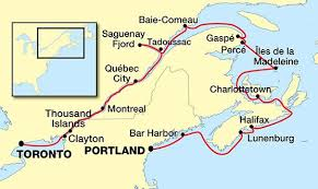st seaway map montreal portland maine cruise usa river cruises