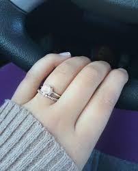 dainty engagement rings pearl engagement ring and dainty wedding band mikimoto