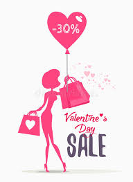 s day shopping s day sale banner with woman holding shopping bags