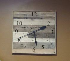 anniversary clocks engraved anniversary clock pallet wall clock personalized clock by raymels