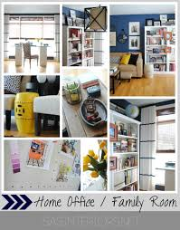 A Newly Designed Home Office  Family Room Jenna Burger - Family room office